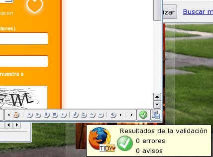 HTML tidy