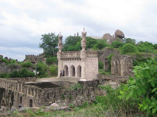 Shah's Mosque on the Golconda Heights
