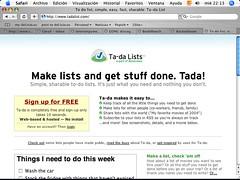 Ta-Da-Lists