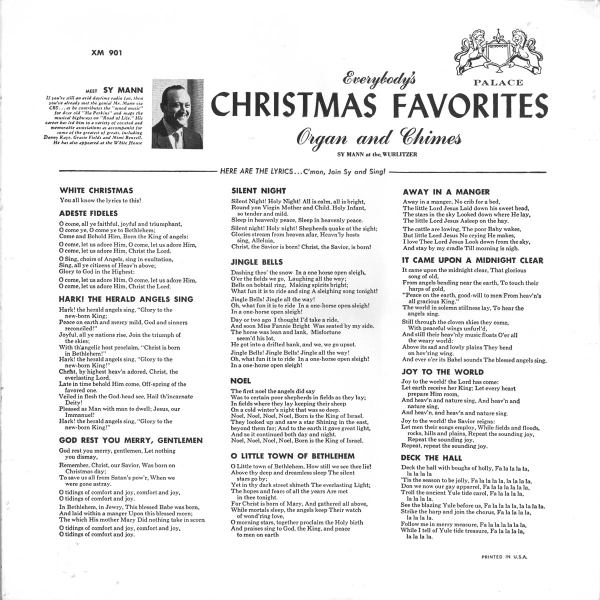 White Christmas For Trumpet By Irving Berlin