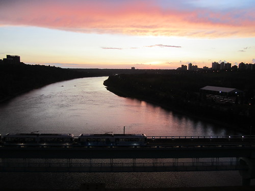 Edmonton from the High Level Bridge