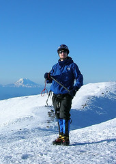 Me on the summit of Mount Rainier