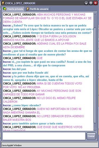 Chica López Obrador