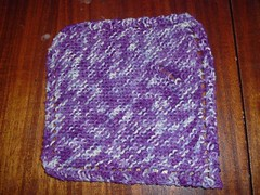 Dishcloth in Cotton Fizz