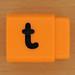 Pushfit cube letter t
