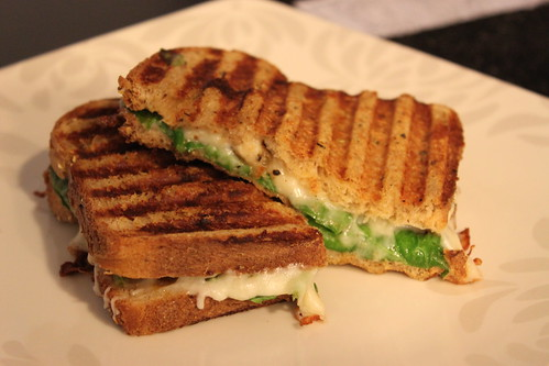 Dijon Chicken & Spinach Panini