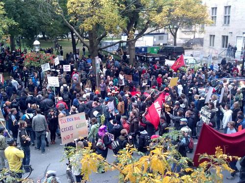 OccupyToronto / OccupyBayStreet