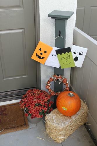 Front Door Post