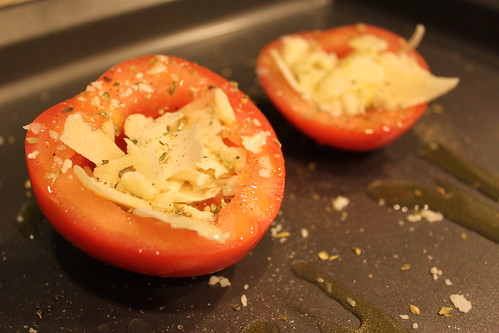 Roasted Parmesan Tomato