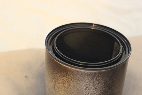 Painting a Paint Can with Oil Rubbed Bronze