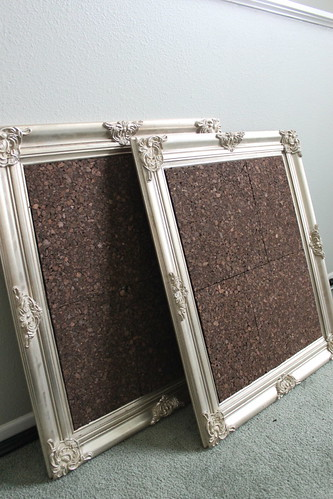 Dark Cork Bulletin Boards