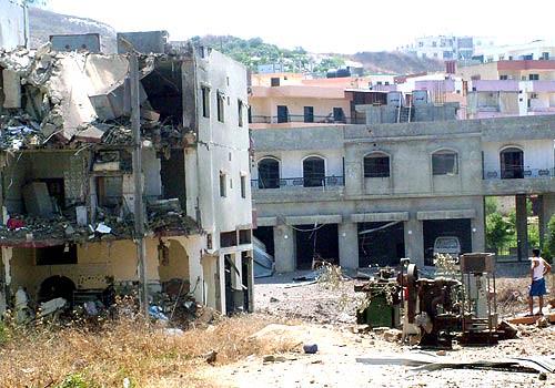Lebanese village, nr Nabaytieh