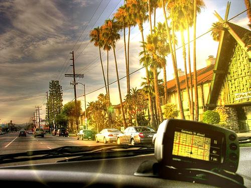 gps driving & shooting