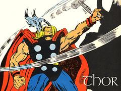Thor, por Gene Colan - CLIQUE AQUI PARA FAZER O DOWNLOAD DESTE WALLPAPER