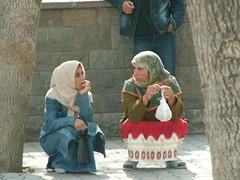 Esperando el Bus en Konya