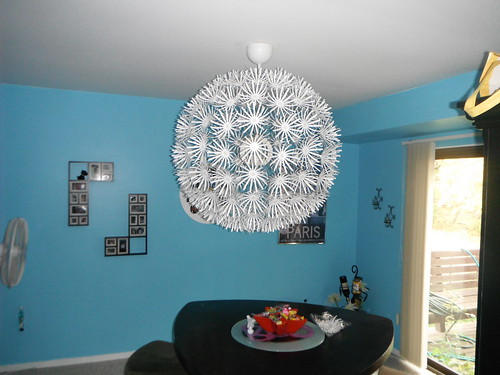 The IKEA PS Maskros chandelier