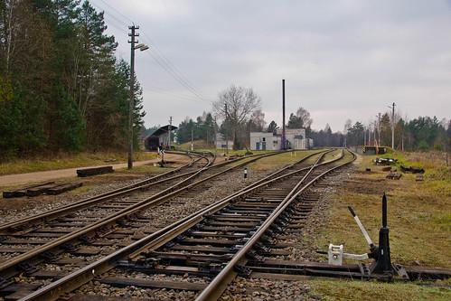 Geležinkelio mazgas prie Skersabalių