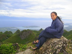 Freedom at Osmeña peak