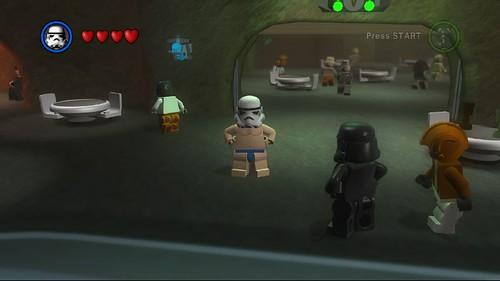 Lego Star Wars II - naked Stormtrooper