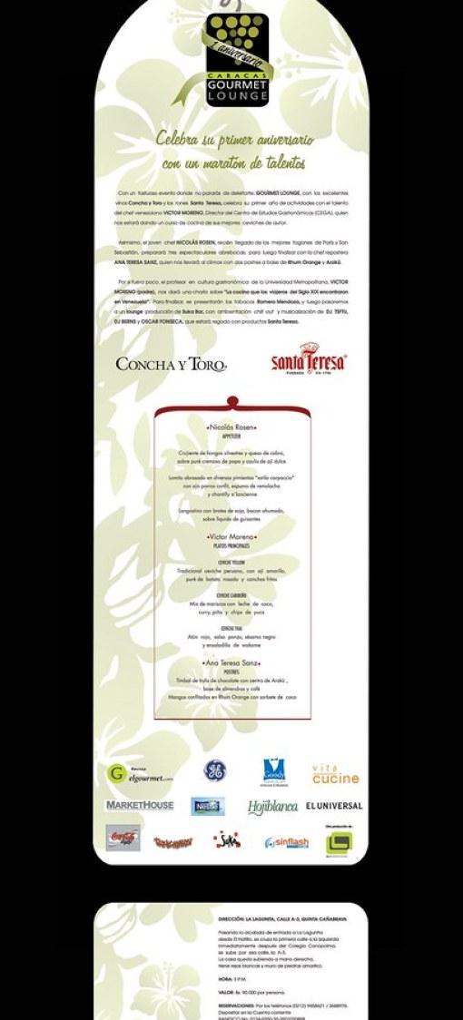 Gourmet Lounge Aniversario