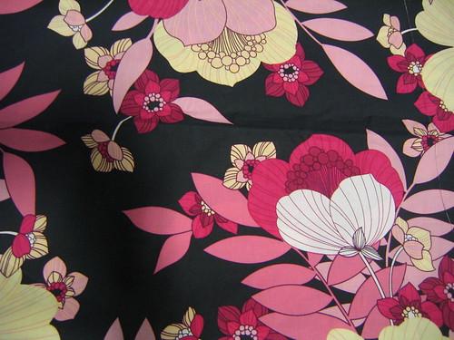 mod floral print