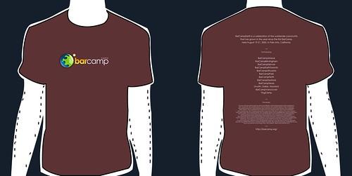 BarCampEarth tshirt v2