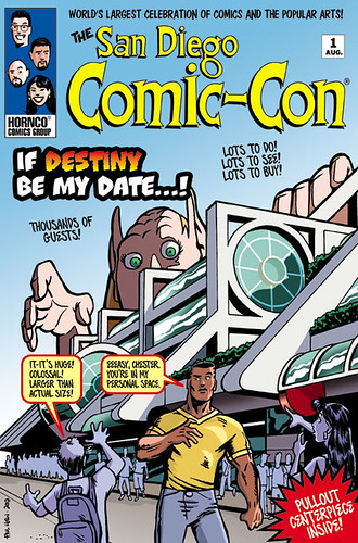 San Diego Comic-con cover