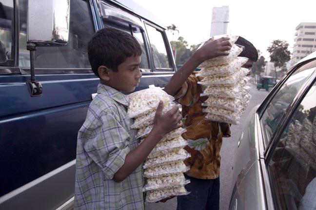 Popcorn vendors