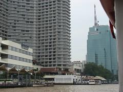 Bangkok, orilla del río.