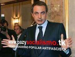 Zapatero por la paz y el socialismo