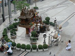 Plegarias en Bangkok
