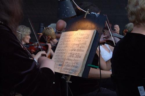 Pilnėnai opera: old note