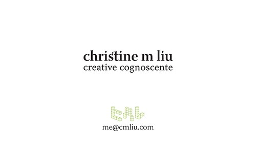 i am the creative cognoscente