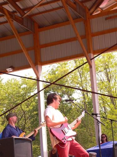 Josh and guitar rockin' (TLG)