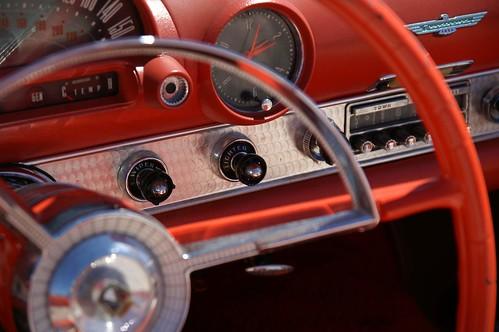 Cockpit de um carro