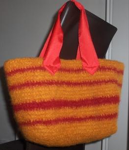 Fulled bag hanging