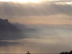 le lac Léman depuis le Vallon de Villars