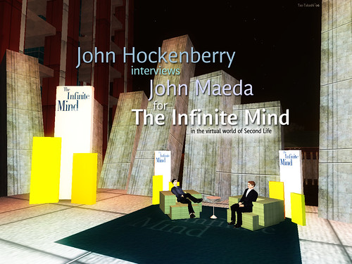 John Maeda interviewed by John Hockenberry for The Infinite Mind Radio show