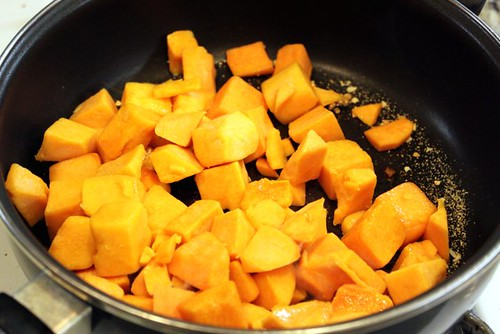 Butternut Squash & Pea Risotto
