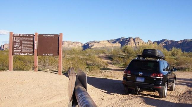 Offroading through Bulldog Canyon