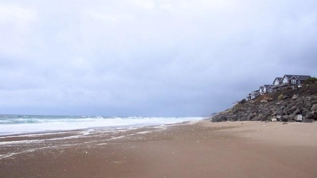Beach at Sea and Sand RV Park
