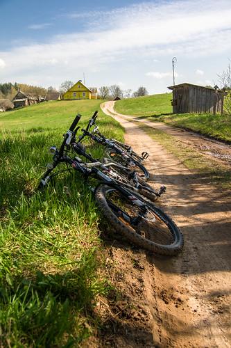Pavargę dviračiai