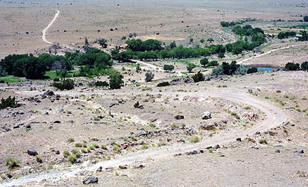 View from La Bajada Hill