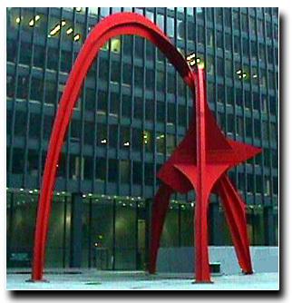 Flamingo, de Calder, Chicago