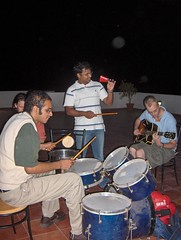 Jamming on the roof