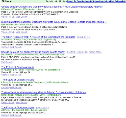 how to search for peer reviewed articles in google scholar