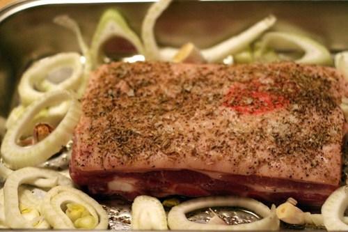 Honey & Fennel Rubbed Pork Belly