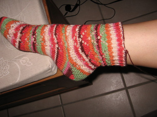 first lace sock