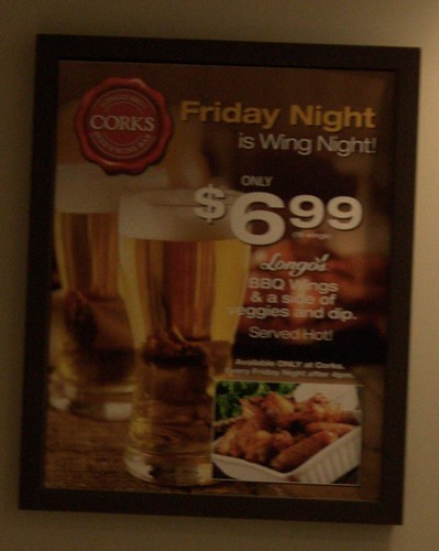 Longo's Wings & Beer Night