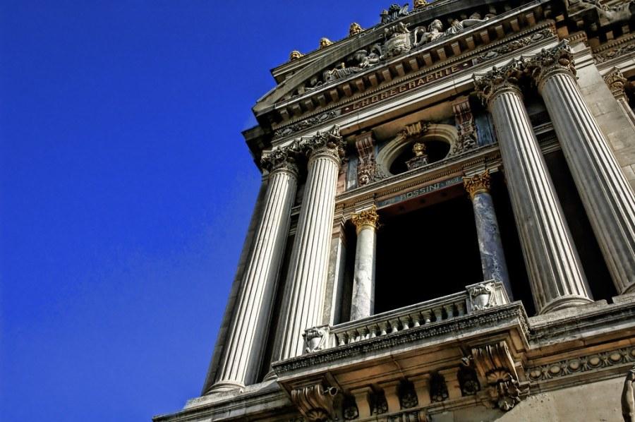 The Parisian Opera House in Summer